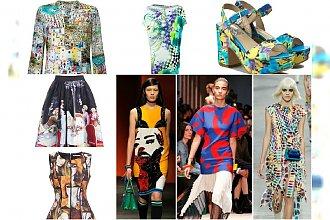 Moda z obrazka - Letni trend na niesamowite printy.