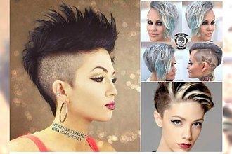 Krótkie fryzury undercut - ekstremalnie wygolone, ale pełne kobiecości
