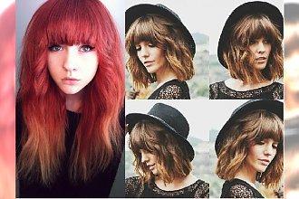 Grzywka w mistrzowskim stylu. 30 fantastycznych fryzur dla półdługich włosów