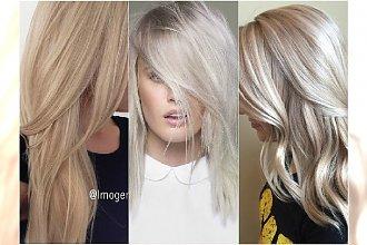 Modne odcienie blondów: latte, ice platinum, syberyjski blond. Przeglądamy najnowsze trendy