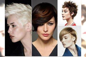 Krótkie fryzury damskie: z grzywką, pixie, asymetryczne. TOP 30 najlepszych cięć z katalogu