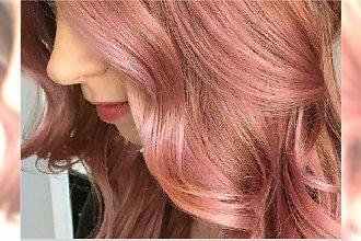 Pomysł na letni kolor włosów: rose gold. Przypominamy gorący trend 2015