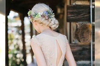 20 fryzur ślubnych - śliczne, gustowne, zgodne z najnowszymi trendami uczesania