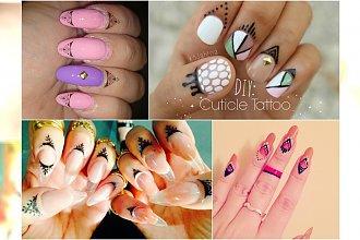 Niesamowite manicure z nail tattoo. Zainspiruj się nowoczesnymi wzorami