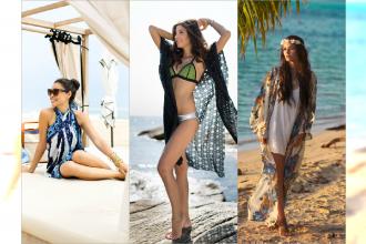 Najbardziej stylowe narzutki na plażę sezonu lato 2015 - Zobacz galerię najpiękniejszych plażowych cover up!