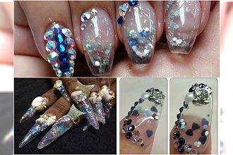 Nowy Trend manicurowy: Aquarium Nails. Zobacz tą nietypową technikę wykonywania paznokci