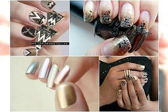 Mix Metals - Niezwykle luksusowy i mieniący mani, który godnie zastąpi biżuterię!