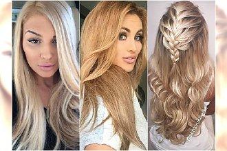 Modne odcienie blondu - DUŻA GALERIA inspiracji