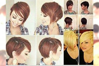 Krótkie fryzury z grzywką prosto z salonu. 20 nowych propozycji!