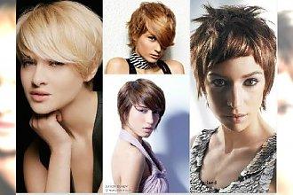 Krótkie fryzury damskie - katalog najmodniejszych cięć z grzywką i pixie