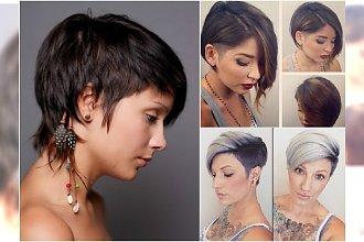 Krótkie fryzury: pixie, asymetryczne, undercut. Duża galeria inspiracji