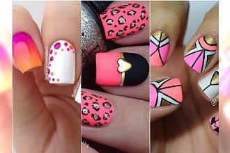 Manicure z różowymi akcentami - super pomysły na wzorki