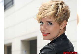 Krótkie cięcia włosów dla dziewczęcych blondynek - postaw na modne fryzurki 2015