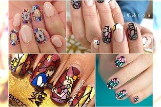 Ponad 20 zapierających w piersiach witrażowych manicure - Ozdób swoje paznokcia w najbardziej wyrafinowany sposób!