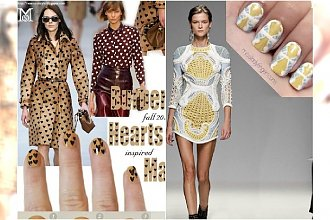 Ponad 20 wyjątkowych manicure inspirowane wybiegami Fashion Week! Sprawdź najmodniejsze wzory