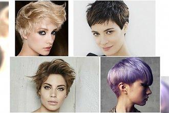 Krótkie fryzury Pixie na jesień 2015 - Propozycje na nowy sezon