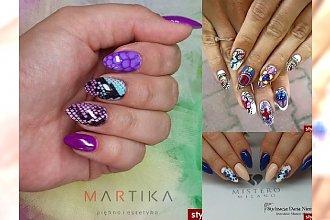 25 propozycji na barwny manicure - gorące trendy 2015