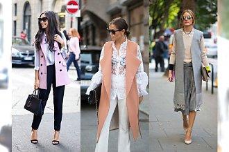 Jesienny niezbędnik każdej szafy - Długa kamizelka. Najlepsze isnpiracje Street Style na każdą okazję!