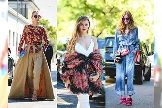 Najlepsze Stylizacje z Milan Fashion Week wiosna/lato 2016 - Zobacz najnowsze trendy tego sezonu!