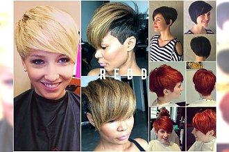 Krótkie fryzury z grzywka - modne, kobiece i nowoczesne propozycje prosto z salonu