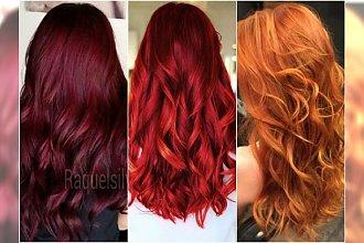 Modne rude kolory włosów na jesień - galeria najpiękniejszych odcieni