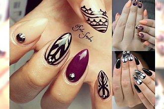 Inspiracje manicure na jesień - modne wzorki 2015