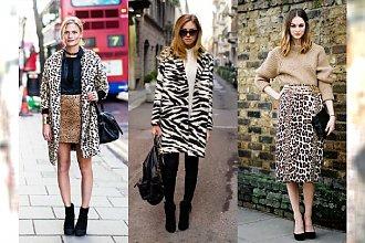 Zwierzęce printy hitem jesiennego Street Style! Zobacz nasze ulubione stylizacje z 2015 roku