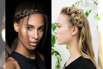 Najlepsze fryzury z wybiegów wiosna/lato 2016 - Zainspiruj się najmodniejszymi uczesaniami