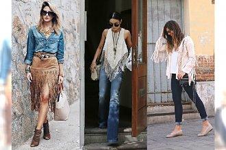 Postaw na modnych jesienny look i wybierz frędzle! Zobacz 5 sposobów na noszenie tego hitu!