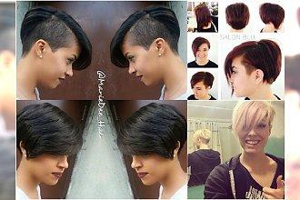 Wygolone krótkie fryzury - najlepsze trendy 2016 z Instagrama
