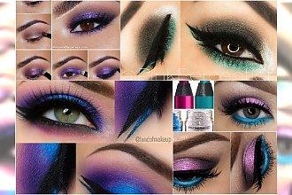 Kolorowy makijaż oczu na jesień - 20 niezwykłych inspiracji