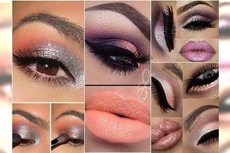 HOT! Świetlisty makijaż oczu na wieczór