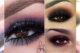 Makijaż smoky eyes w najpiękniejszym wydaniu. Cudo!