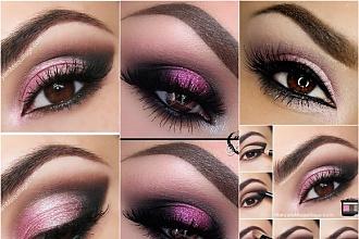 Różowy makijaż oczu w najpiękniejszym wydaniu