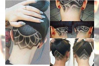 Wygolone wzorki na włosach. Najlepsze pomysł na oryginalną ozobę undercut
