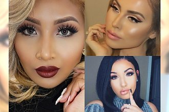 Jesienne make-up'y, które pozazdrościłyby Kardashianki - Zobacz TOP 20 makijaży z najmodniejszych kolorach