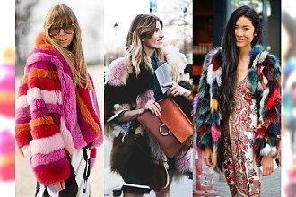 Czas na futrzaki! - Sięgnij po super inspiracje Street Style na zimę 2016
