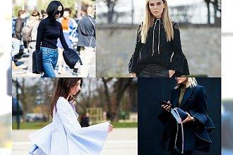 HOT: Trend, którego noszą wszystkie gwiazdy Street Style na sezon 2015/16 - Rękawy dzwony