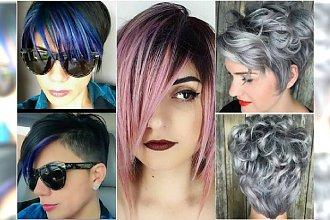 Modne kolory dla krótkich włosów - gorące trendy 2016