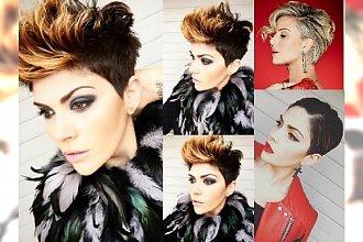 Krótkie fryzury na sylwestra - modne stylizacje z irokezem i grzywką