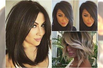 Modne fryzury półdługie 2016 - przegląd trendów z Instagrama