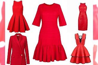 Czerwone sukienki nie tylko na Walentynki - Przegląd najmodniejszych propozycji z sklepów