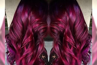 Kolory włosów 2016: Fiolety i rudości. Najpiękniejsze odcienie na sezon wiosenny