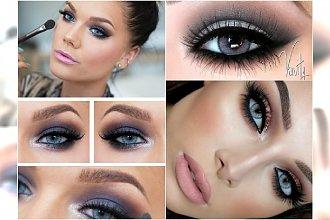 Makijaż dla jasnych oczu. Niebieskie i szare tęczówki wyglądają w tych kolorach rewelacyjnie!