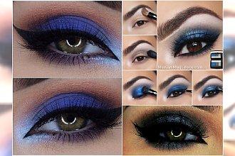 Niebieski makijaż oczu w najpiękniejszym wydaniu - 20 niezwykłych inspiracji