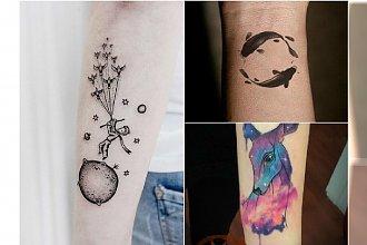 Małe tatuaże z uroczymi motywami. Będziecie chciały je mieć!