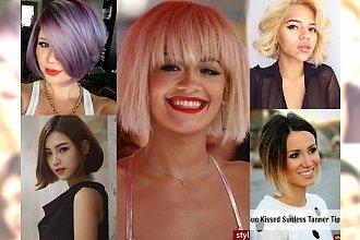 Kilkanaście fryzurek w pół szyi i za ucho - WYJĄTKOWE fryzjerskie trendy!