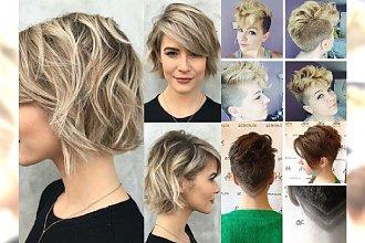 MEGA galeria najmodniejszych krótkich fryzur - Odśwież swój wygląd na 2016!
