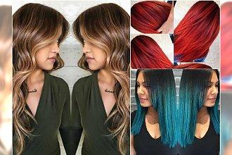 Modne kolory włosów 2016: refleksy, sombre, kolorowe ombre. Te trendy trzeba wypróbować!