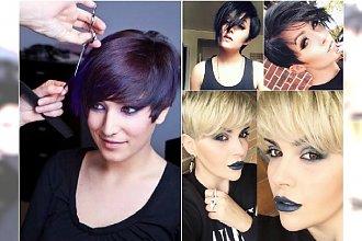 Krótkie fryzury z grzywką: pixie, undercut, asymetryczne. 20 super propozycji z Instagrama